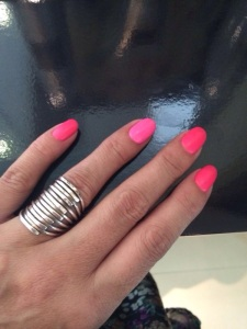 Matte Pink Gelish @ Robert Alexander Salon